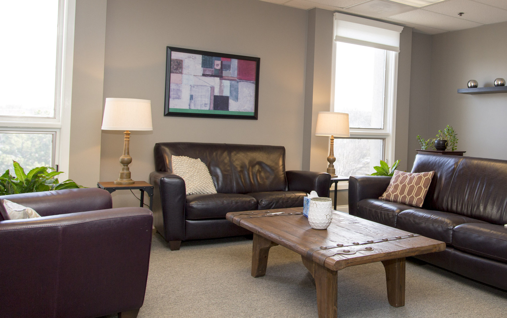 Hinsdale Therapy Group office -  Take a virtual tour  here .