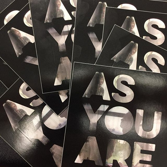 Finally got in some of the #swag we were waiting on!  Apologies to those of you who we've kept waiting.  Stickers, rolling papers, buttons, etc. 🔥🔥🔥#asyouare #outnow