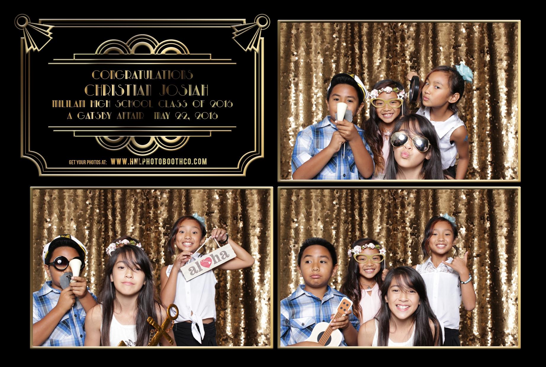 waipio mililani honolulu oahu hawaii photo booth for graduation wedding