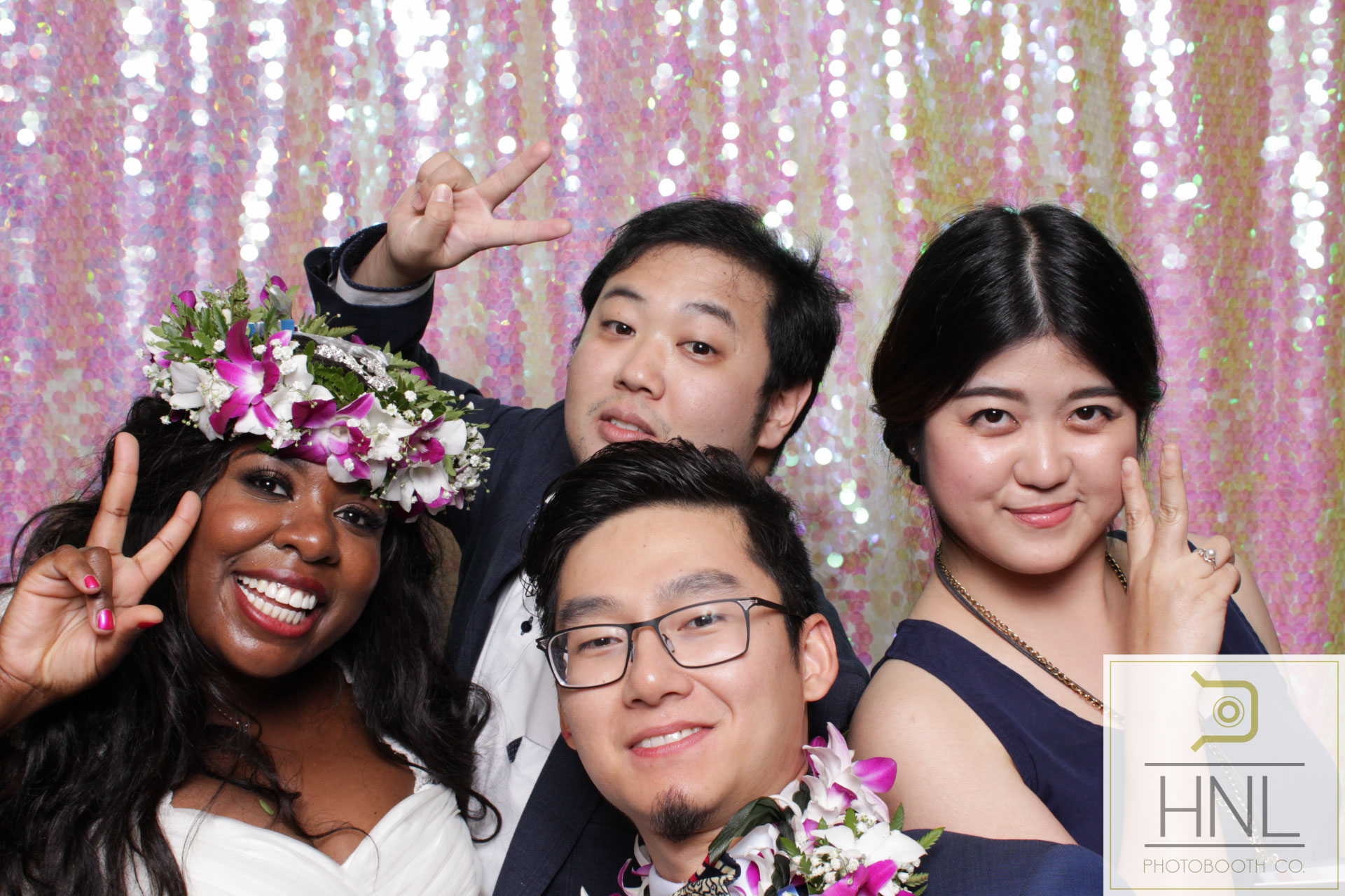 Yemi and Yang Wedding Photo booth Hiltion Hawaiian Village Resort Waikiki Oahu Hawaii -1.jpg