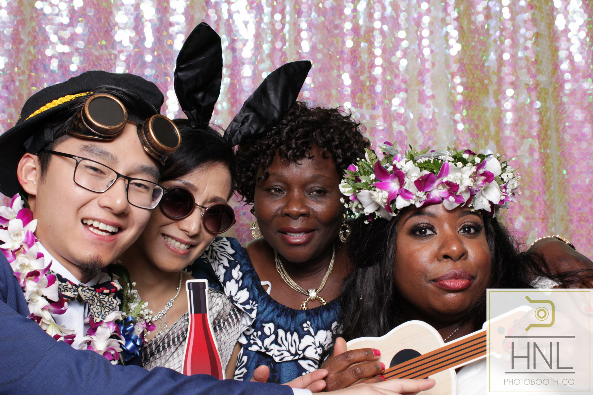Yemi and Yang Wedding Photo booth Hiltion Hawaiian Village Resort Waikiki Oahu Hawaii -88.jpg