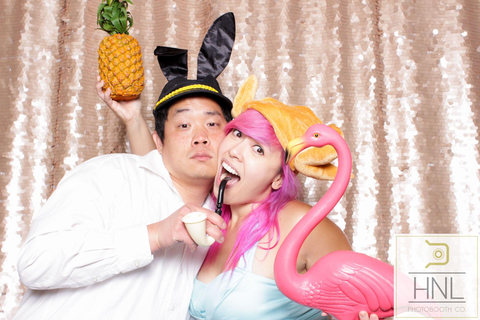 Helen and Ryan Wedding Photo Booth The Halekulani Hotel Waikiki Oahu Hawaii (44 of 154).jpg