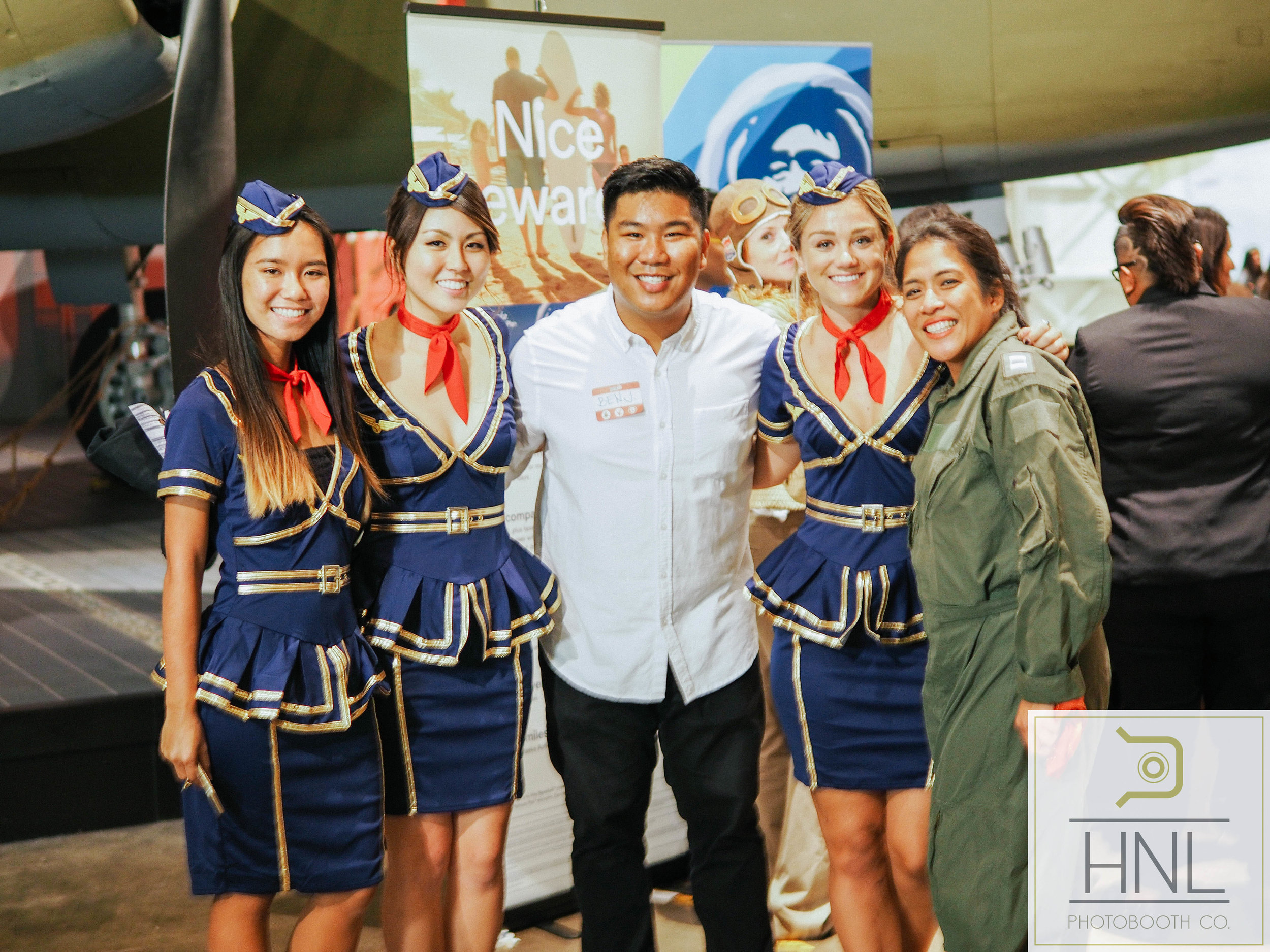 Yelp Event party rental photo booth flight club at the pacific aviation museum at pearl harbor honolulu hawaii (32).JPG