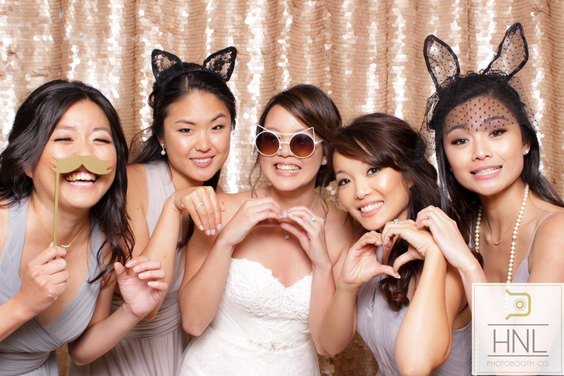 WEDDINGS - We love weddings so much that we specialize in them! Our sleek and clean photo booths are opened-air style to match any decor. The booth produces studio quality images and prints, and looks absolutely incredible in any wedding venue.