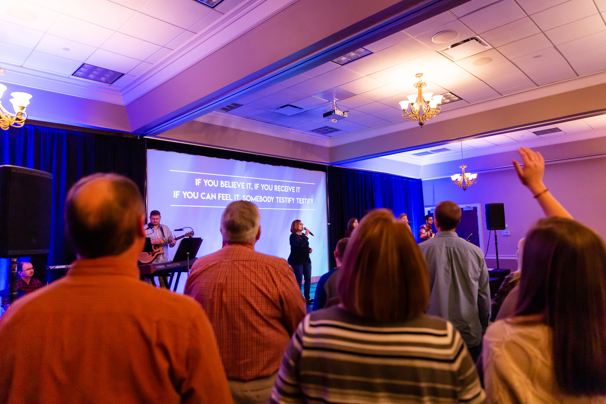 IGNITE Worship - 10:30 AM, Fellowship Hall
