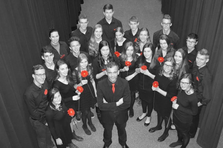 Oxford Reformed Christian School Chamber Choir.