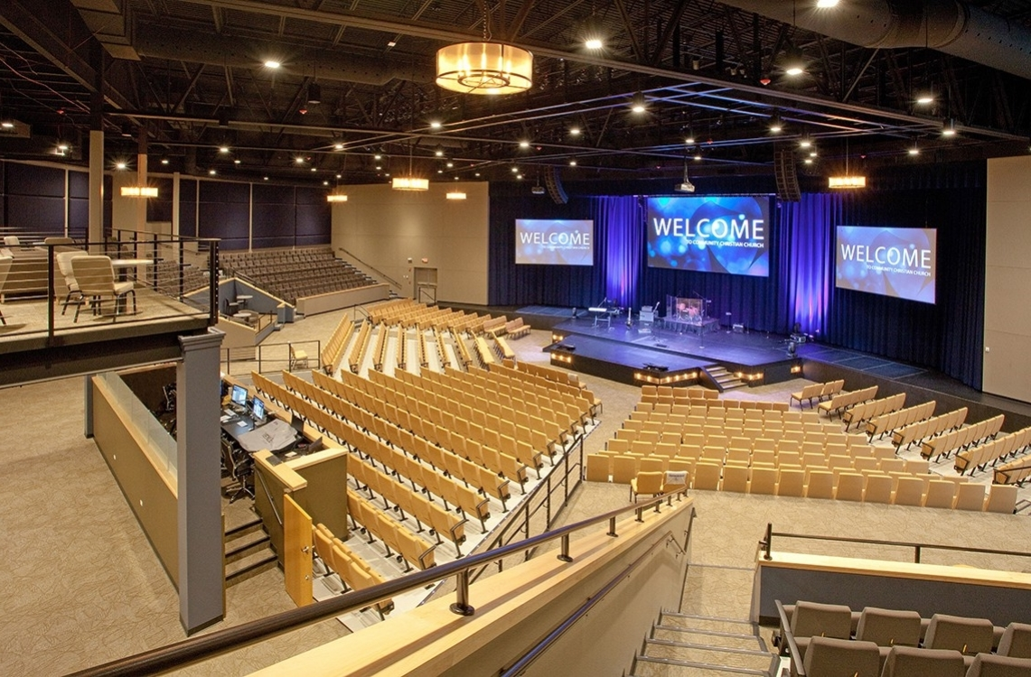 Auditorium for Friday and Saturday events