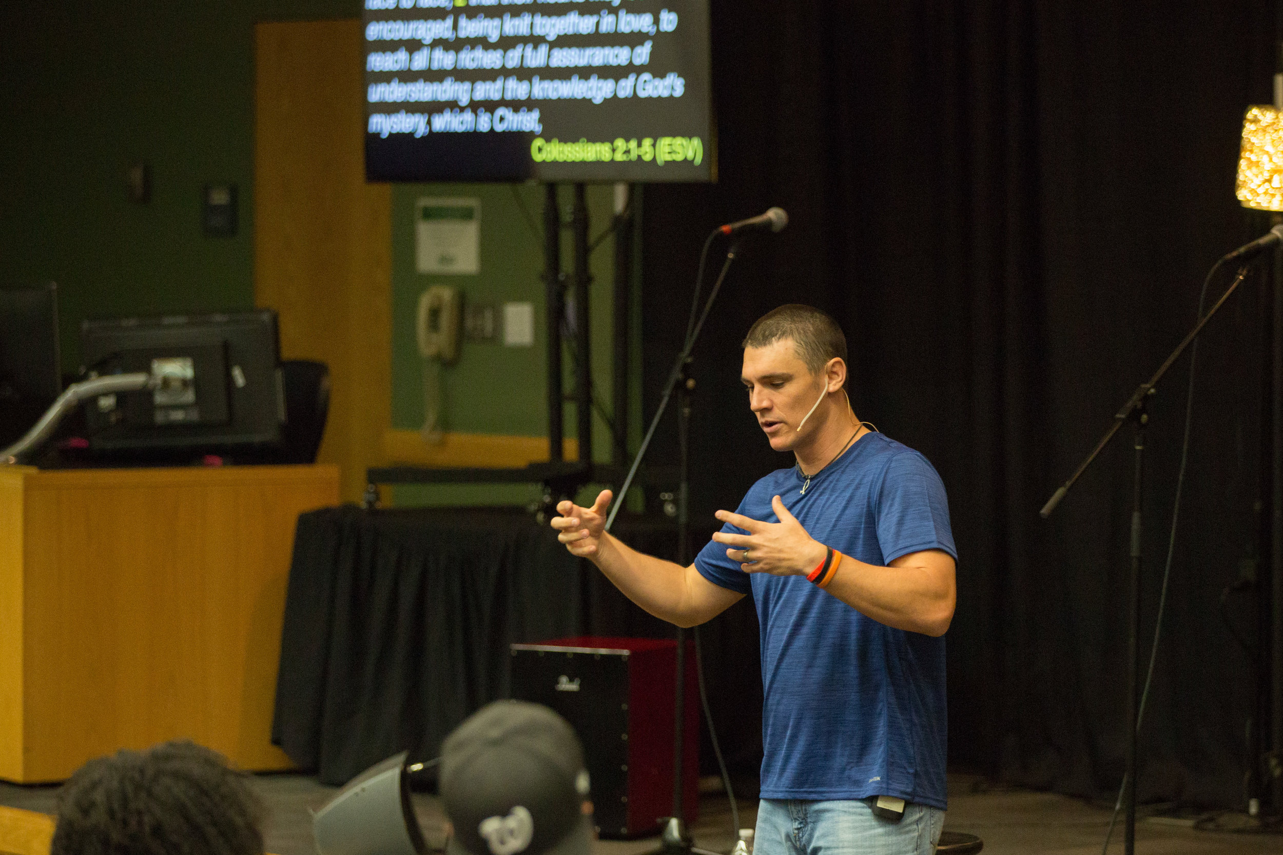 """Pastor Christian Gaffney """"The Church Unbeatable"""""""