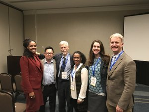Left to right - Drs. Bowen Chung, Ken Wells, Ashley Wennerstrom, and Benjamin Springgate