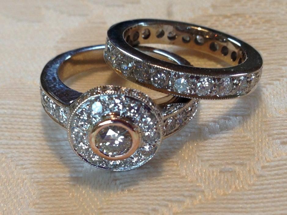 Engagement Ring/Wedding Band Reset