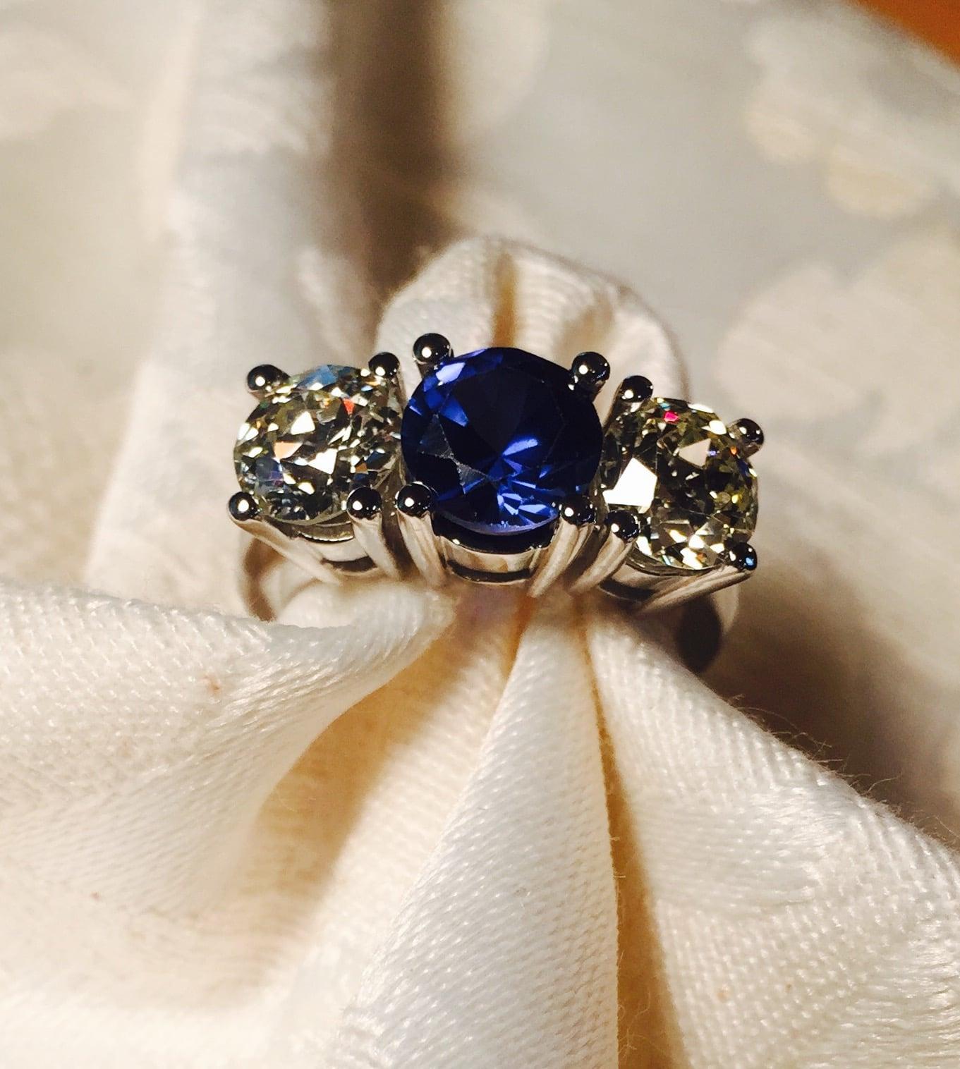 Three Stone Ring Reset