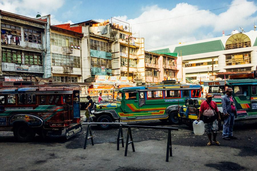 Baguio's Dangwa Bus Terminal