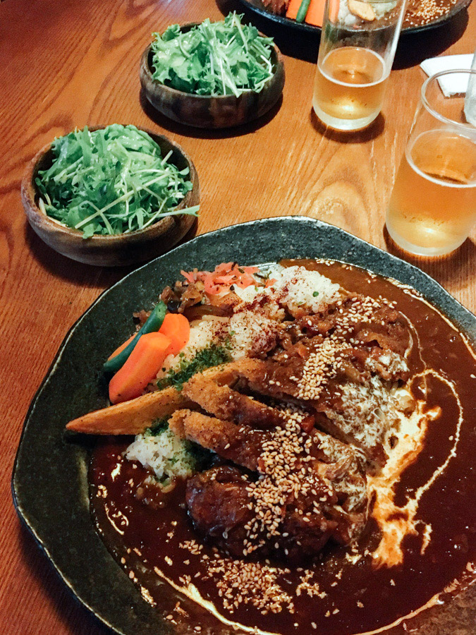 The most delicious Japanese curry.