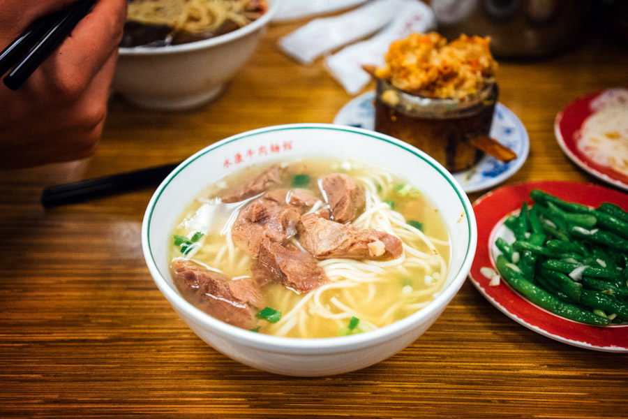 Yong Kang Beef Noodles - beef noodle soup