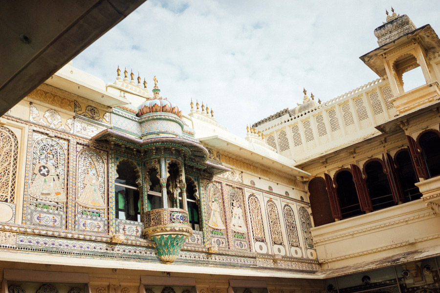 Udaipur's City Palace.