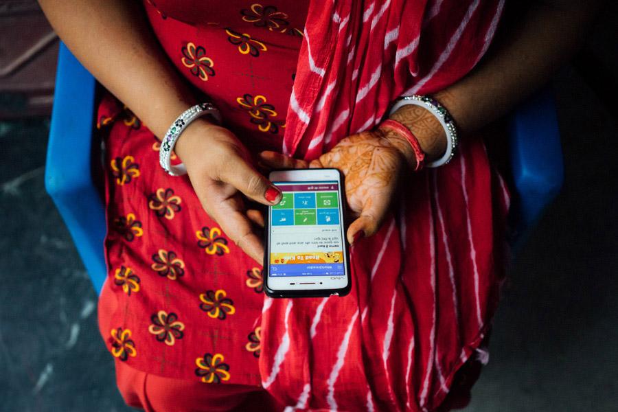 Madelene Farin for  Worldreader , in Delhi, India.