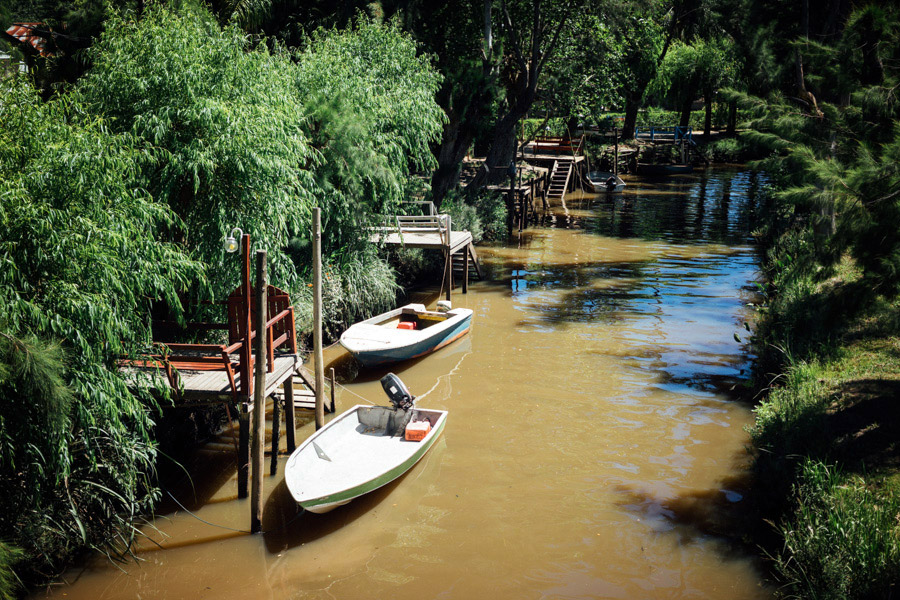 Canals of Tigre.