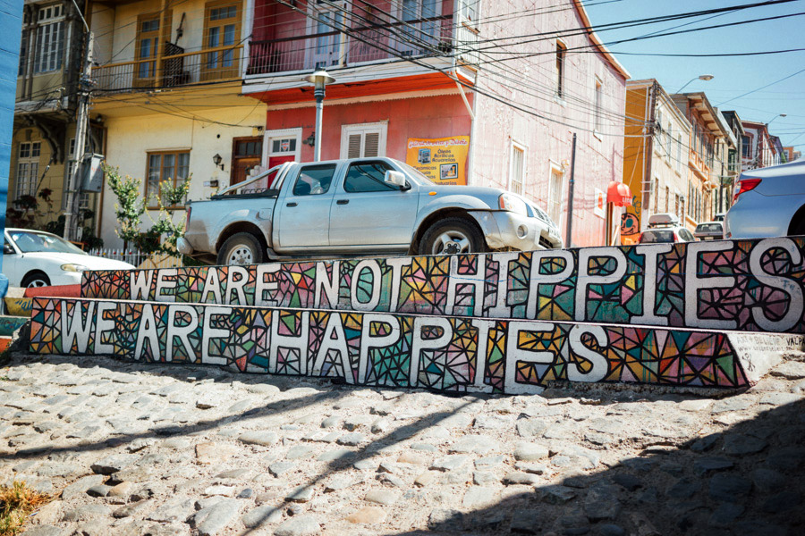 """We are not hippies. We are happies."" The Valpo motto."