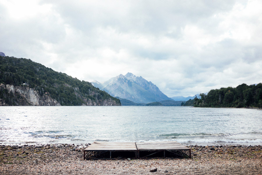 Our unforgettable New Year's view in Bariloche, Argentina.