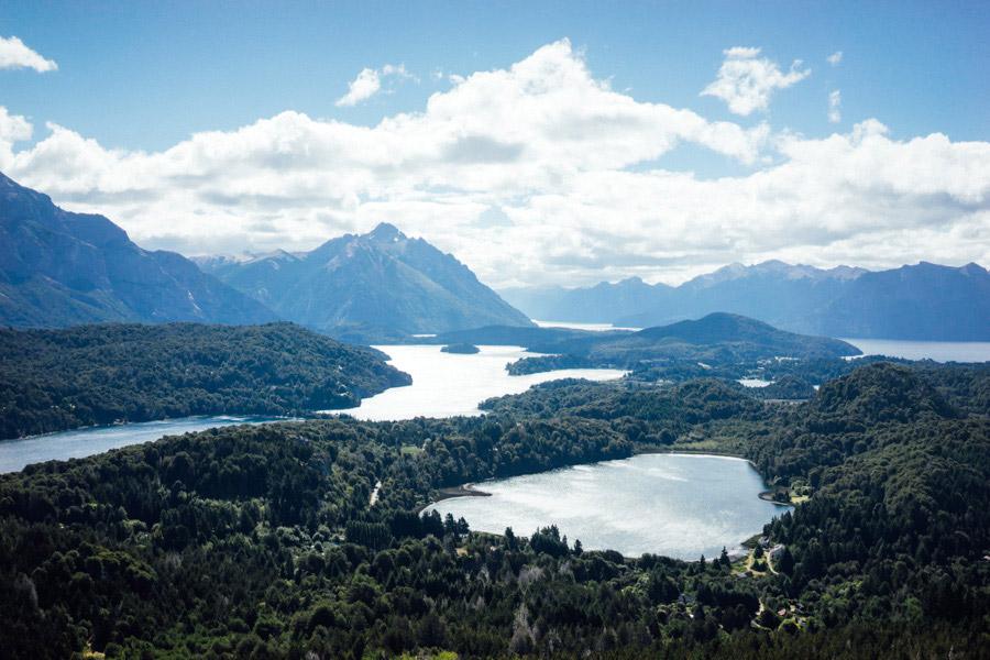Incredible views from the top of Cerro Campanario.