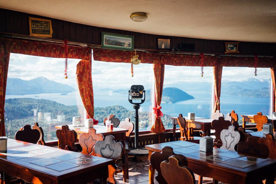 Lookout deck at Cerro Campanario.