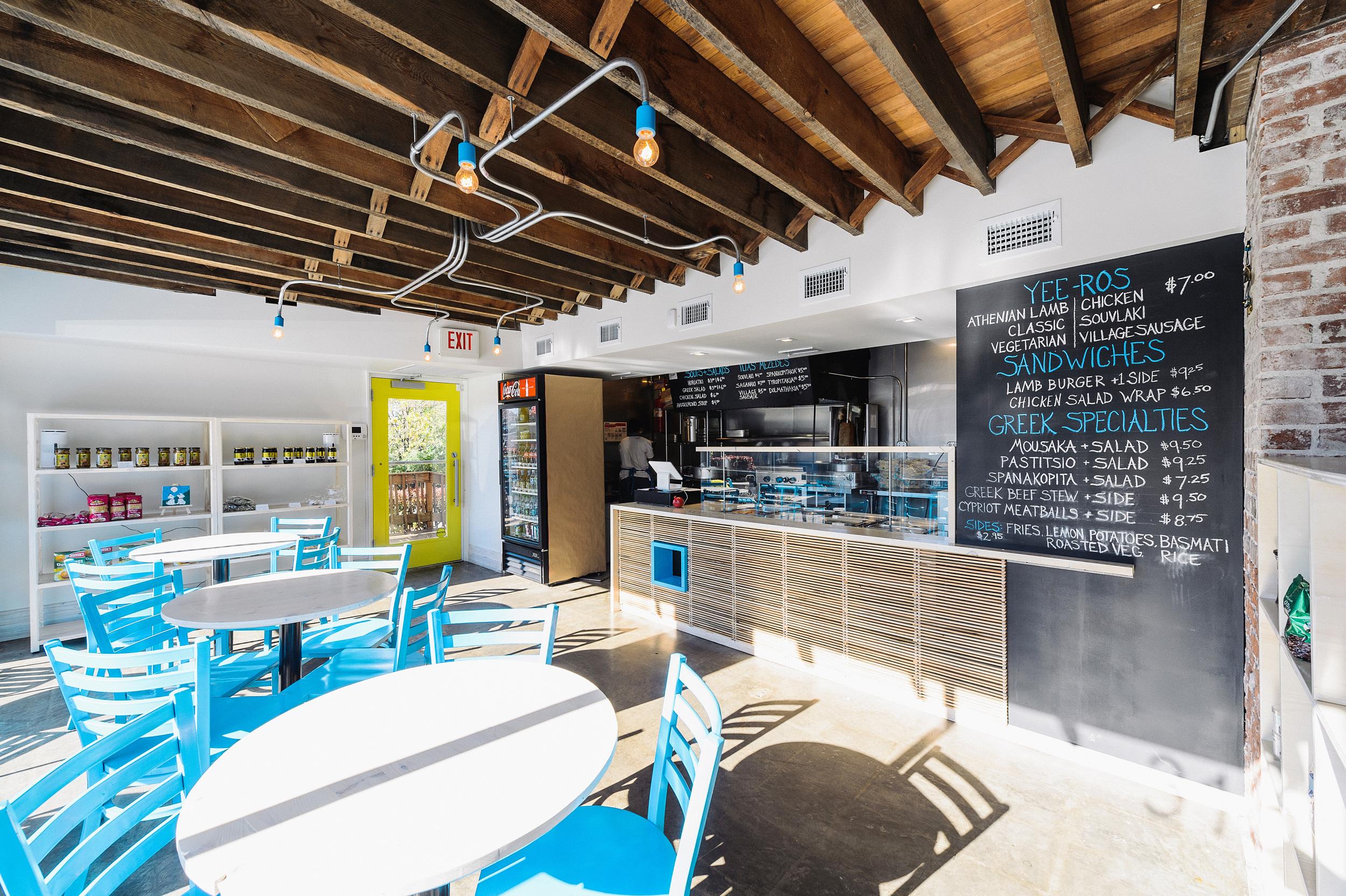 Athenian Grill Restaurant Interior - Lexington, KY