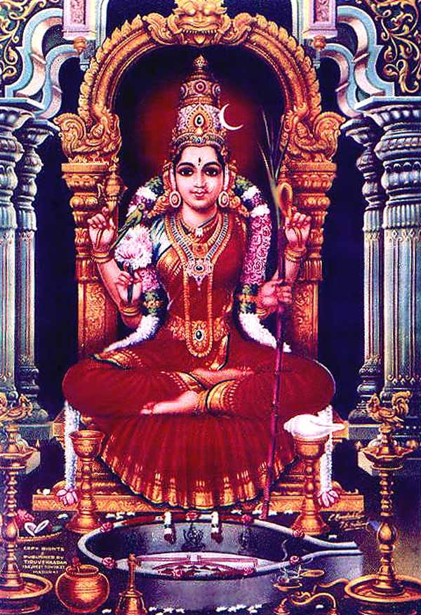 Sri Lalita Devi, Ma Tripurasundari.