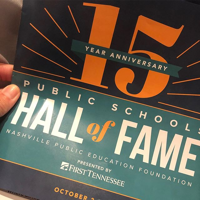 Glad to be attending today's @nashvillepef lunch. We are especially proud of #LTClassIII member and LT NEXT advisory council member, Kasar Abdulla, for being named as a Distinguished Alumni.
