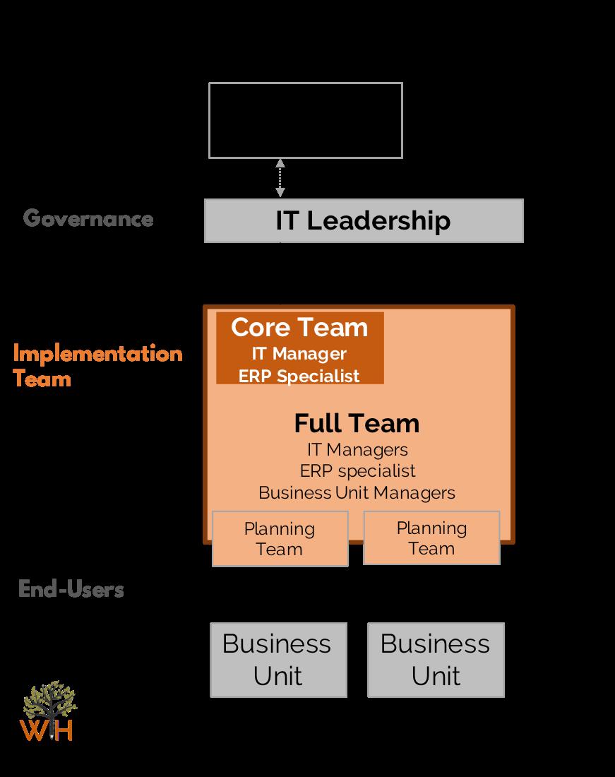 erp-implmentation-team-structure