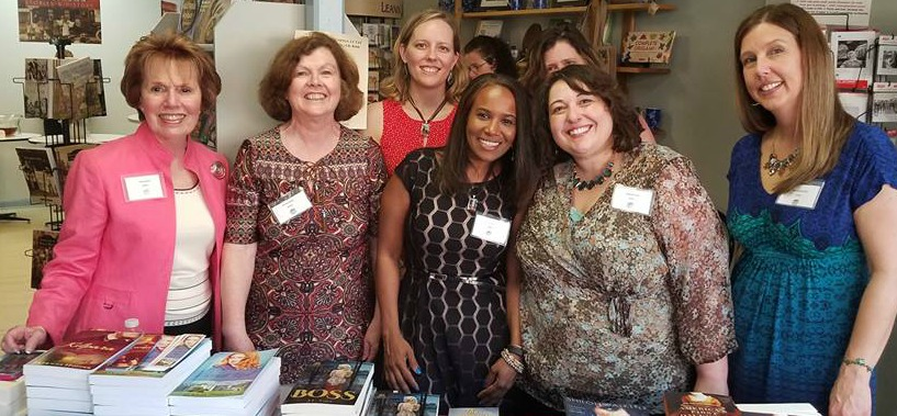 Selected writers autographed their recent books. I signed many copies of Barefoot Beach.