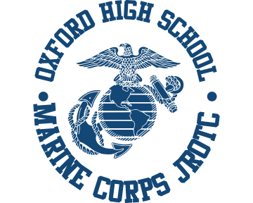 Oxford High School Marine Corps JROTC - blueclock dark blue.png