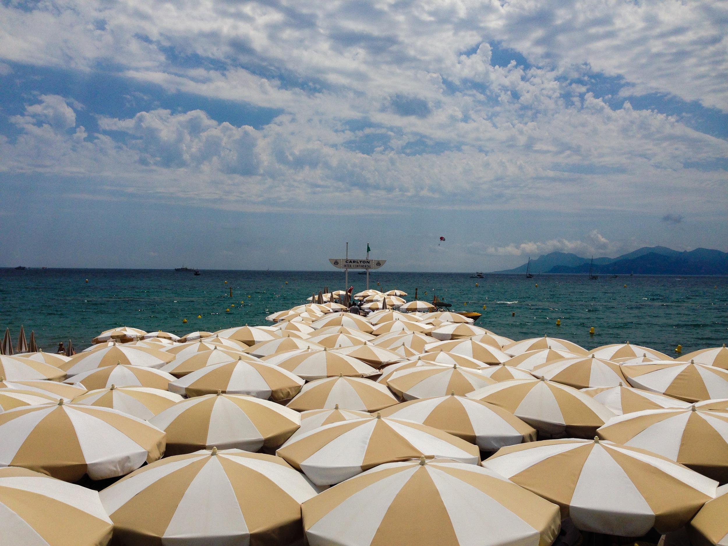 Carlton Beach, Cannes, 2015