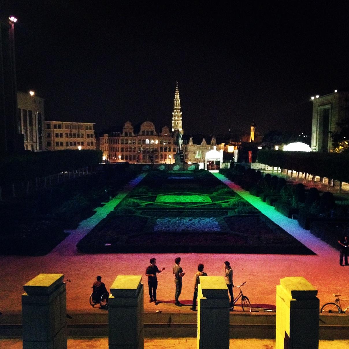 Kunstberg, Brussels, 2014