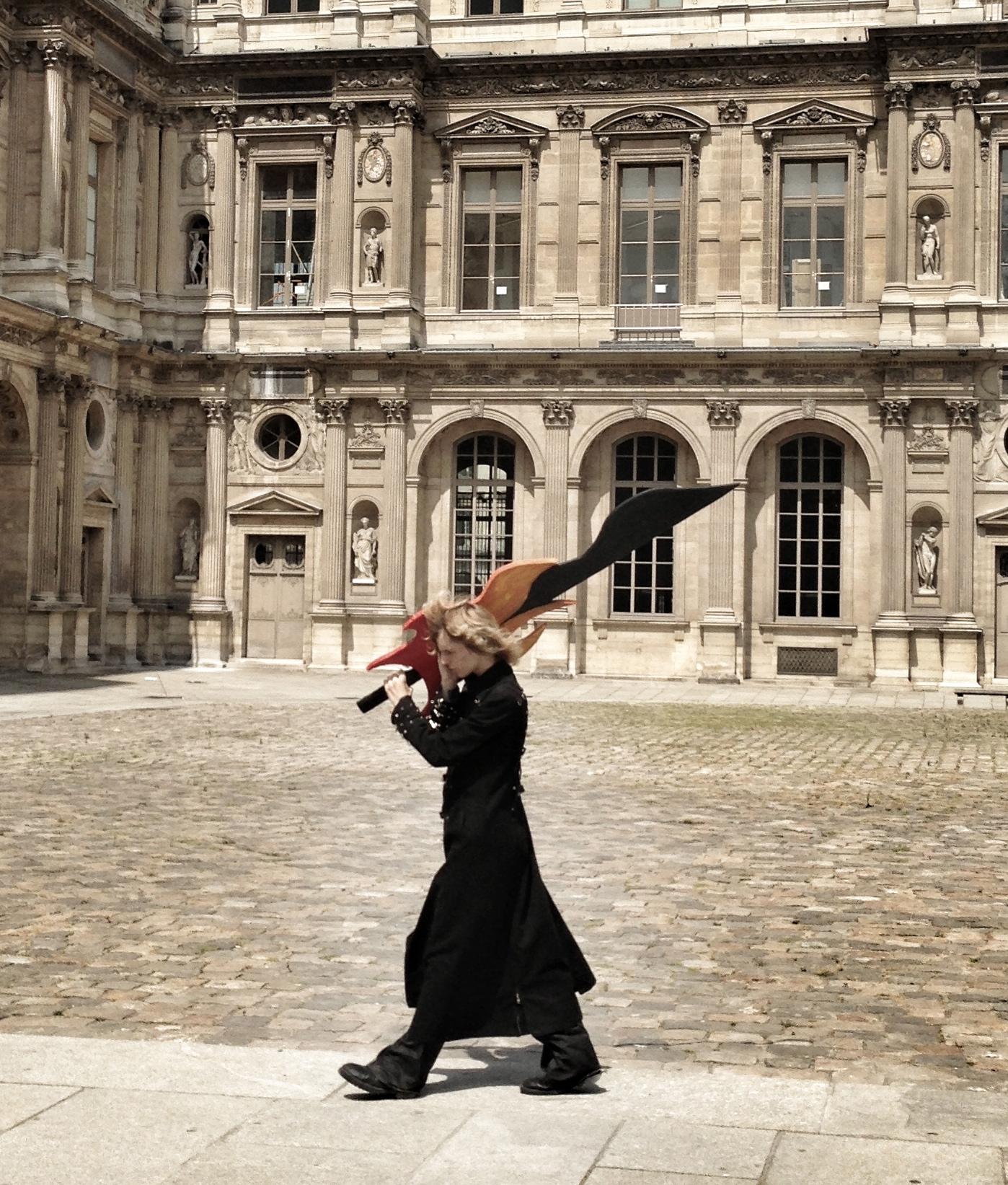 Place du Palais-Royal, Paris, 2013