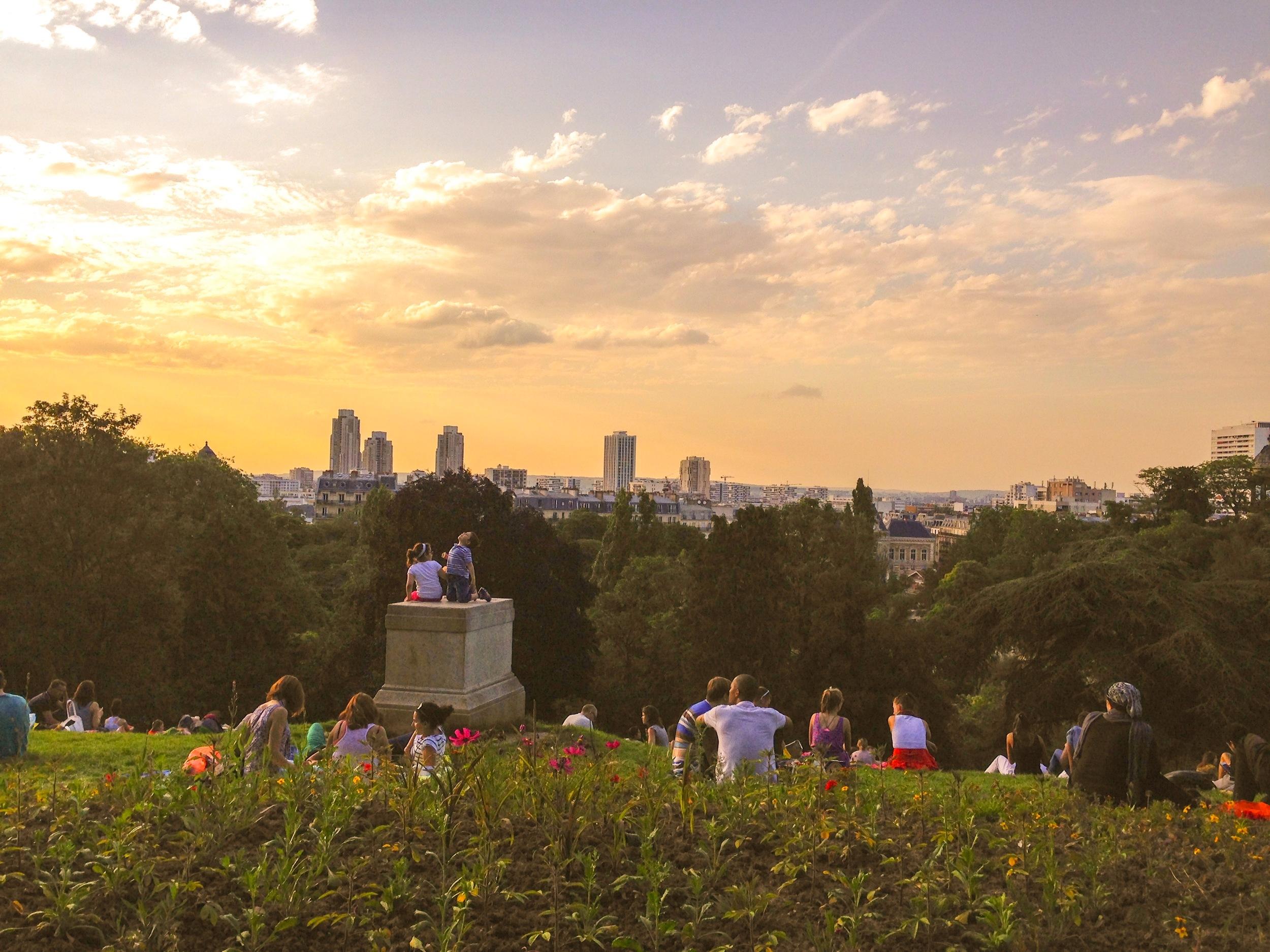 Parc des Buttes-Chaumont, Paris, 2014