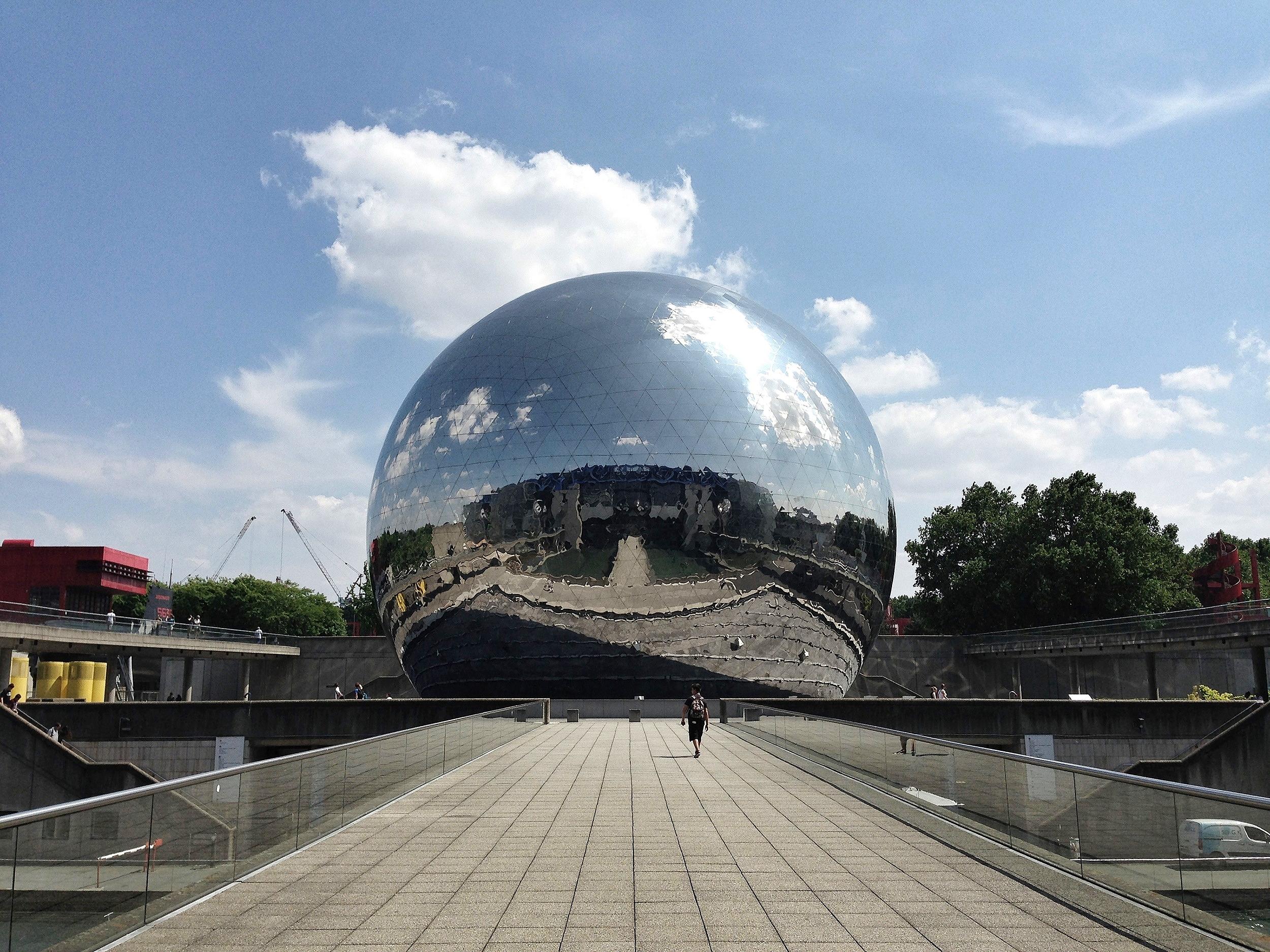 La Géode, Paris, 2013