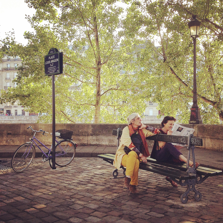 Place Louis Aragon, Paris, 2014