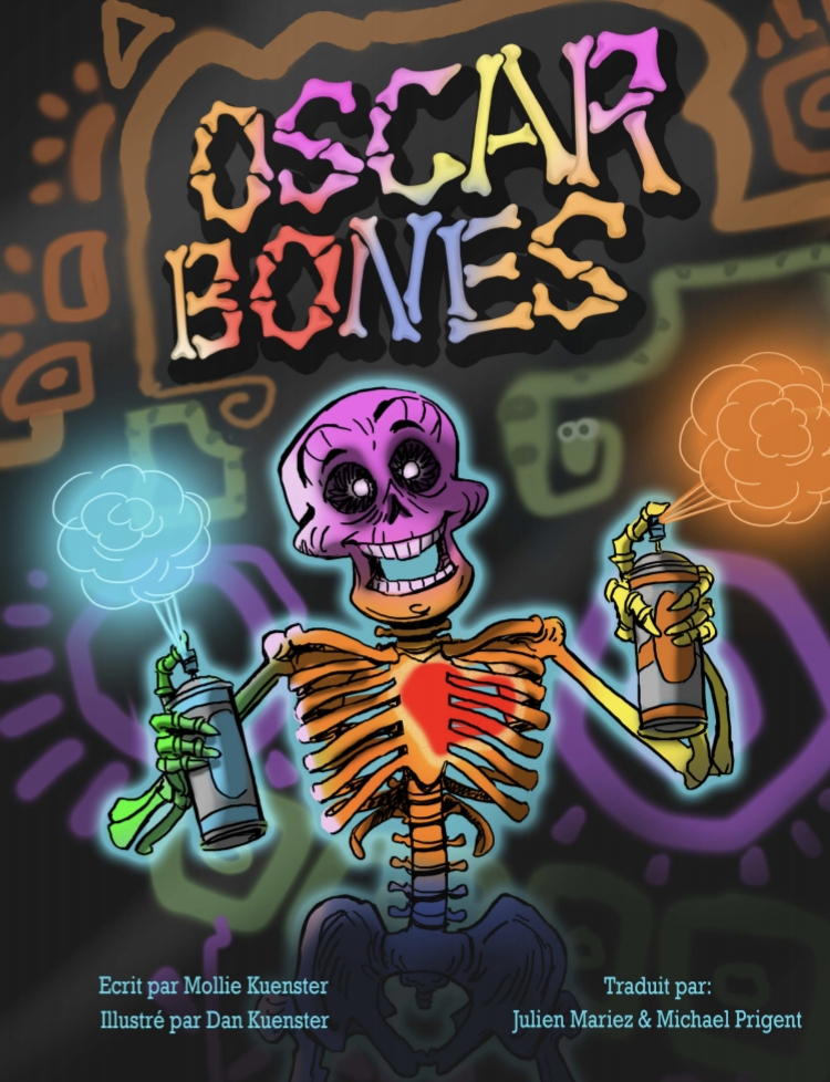 Oscar Bones - The story of a street artist skeleton in the Paris Catacombs