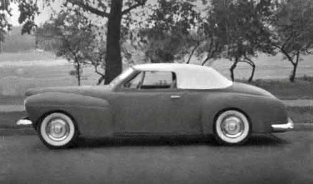 Jack's '41 Mercury, bought at age 16.