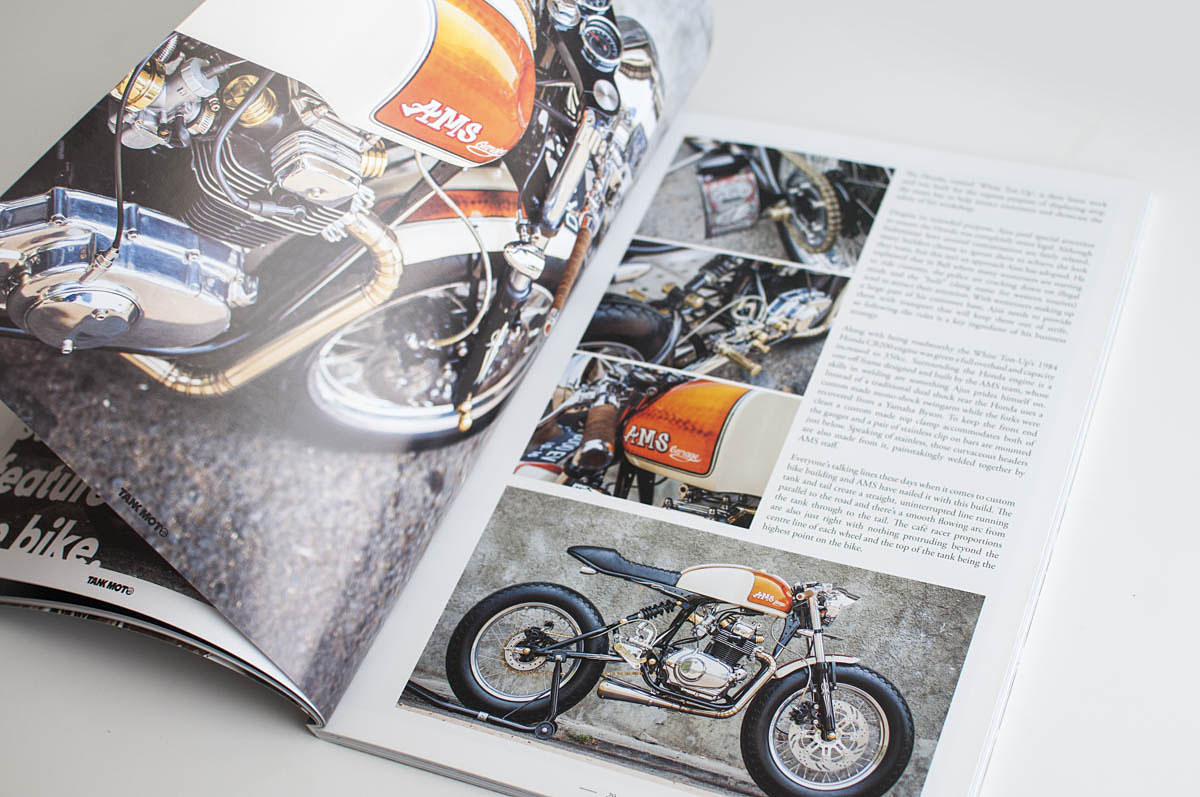 See this feature and many more in the brand new  Tank Moto issue 09 .
