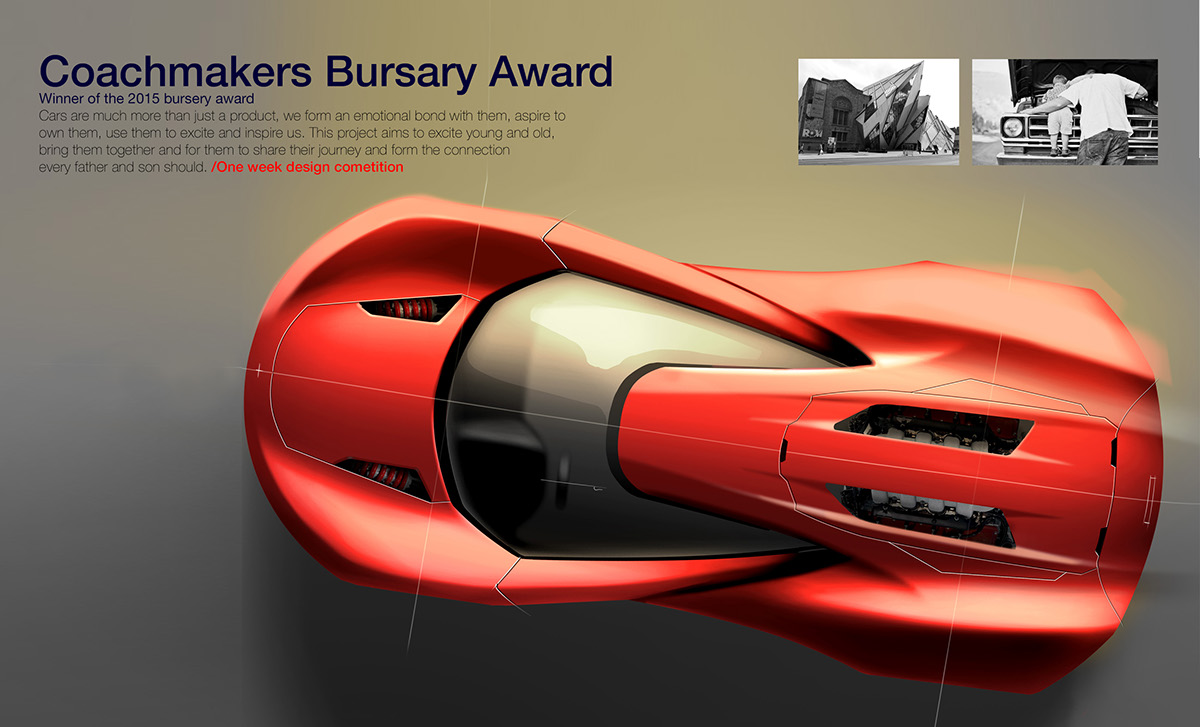 Art Of Drive An Interview With Automotive Designer Matthew Robson Fuel Tank