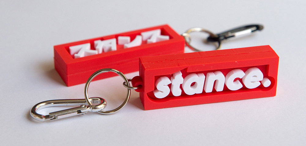 Stance key chains now available at the  Fuel Press shop .