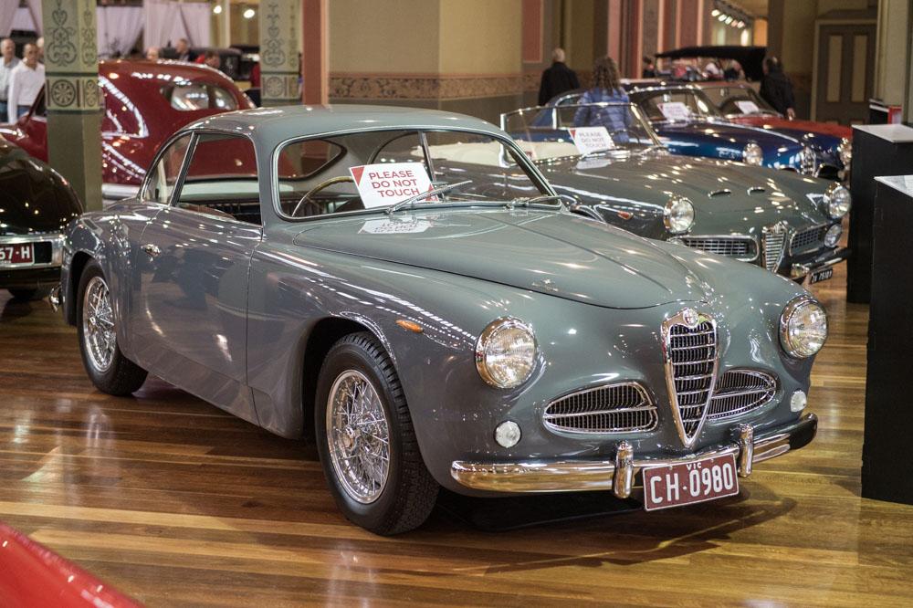 1953 Alfa Romeo 1900CS.