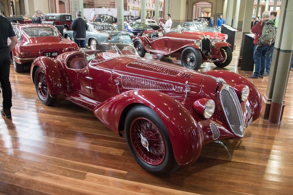 1938 Alfa Romeo 6C 2300BB.