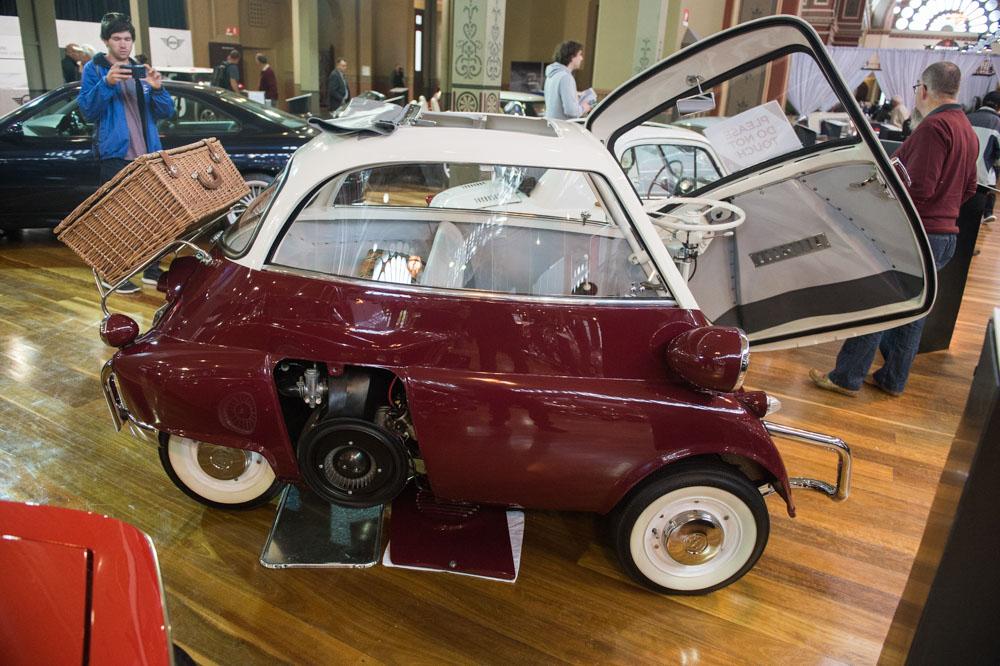 1958 BMW Isetta.
