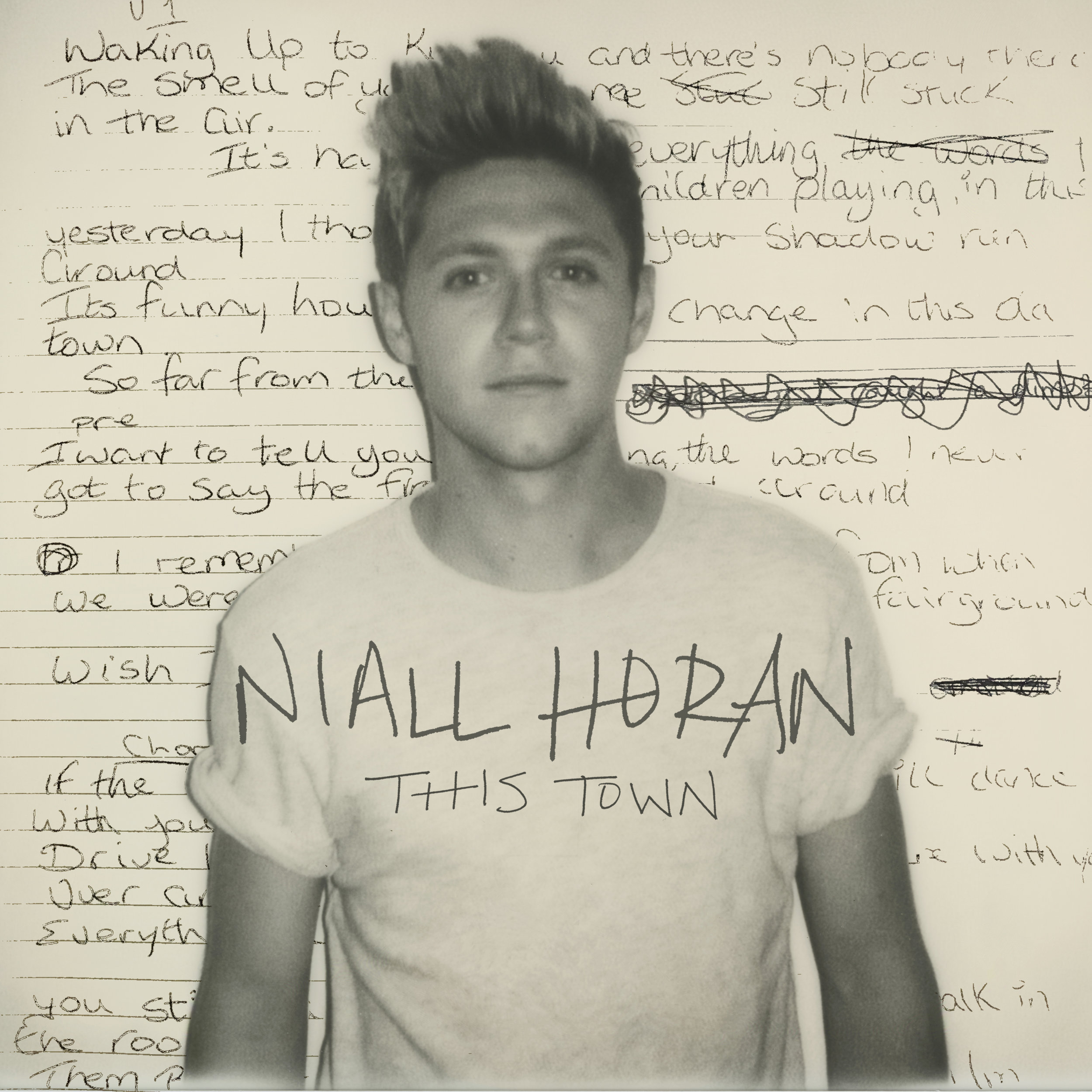 "Niall Horan ""This Town"" single cover  / Capitol Records"