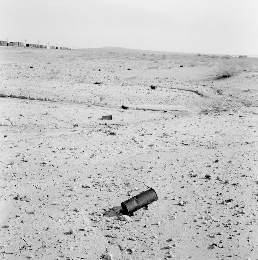 Can   Near Salton Sea, California, 2004.