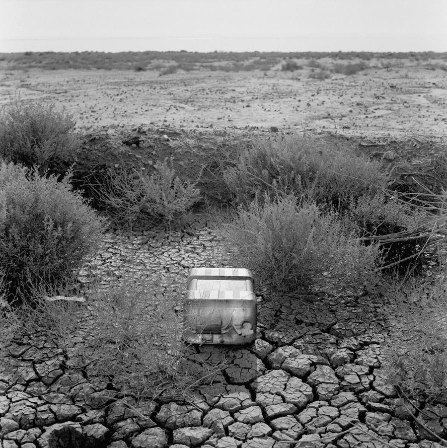Container   Near Salton Sea, California, 2004.