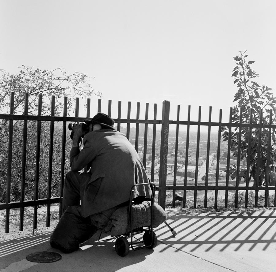 Lookout, Elysian Park   Los Angeles, California, 2004.