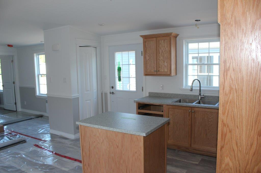 GOLDEN OAK KITCHEN CABINETS